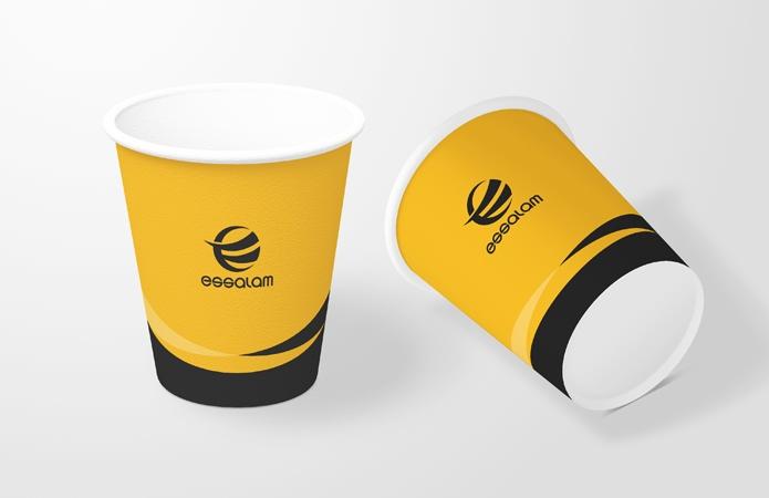 新疆乌鲁木齐VI设计-纸杯-美无画品牌设计