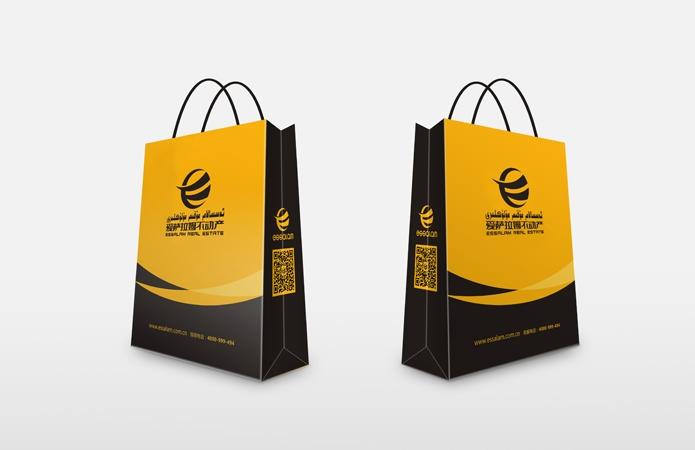 新疆乌鲁木齐VI设计-手提袋-美无画品牌设计