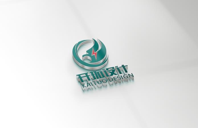 新疆开拓工程设计有限公司标志设计-美无画品牌设计出品